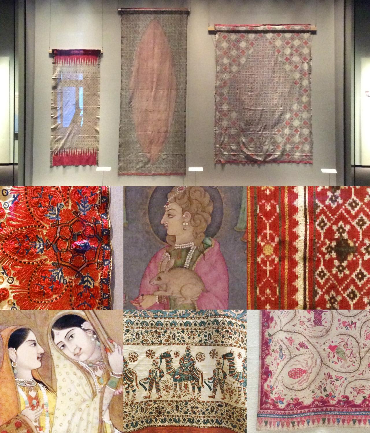 東京国立博物館 東洋館 アジアの染織 インドの細密画